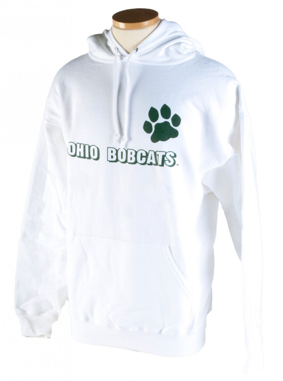 OHIO BOBCATS PAW HOODED SWEATSHIRT