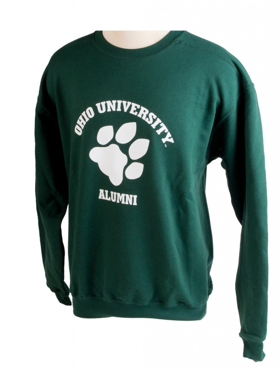 OHIO UNIVERSITY ALUMNI PAW CREW NECK SWEATSHIRT
