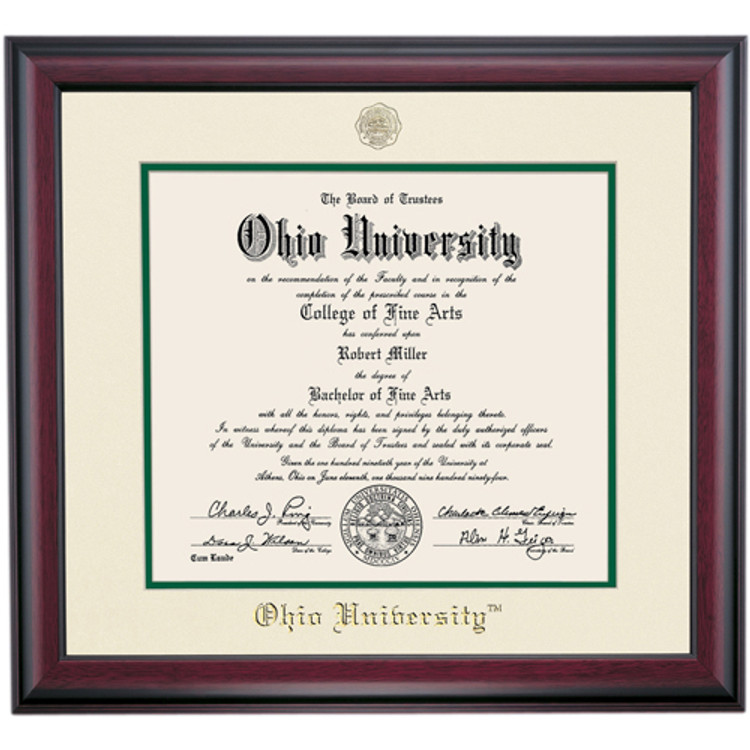 TRADITIONAL STYLE FOR MASTER DIPLOMA FRAME