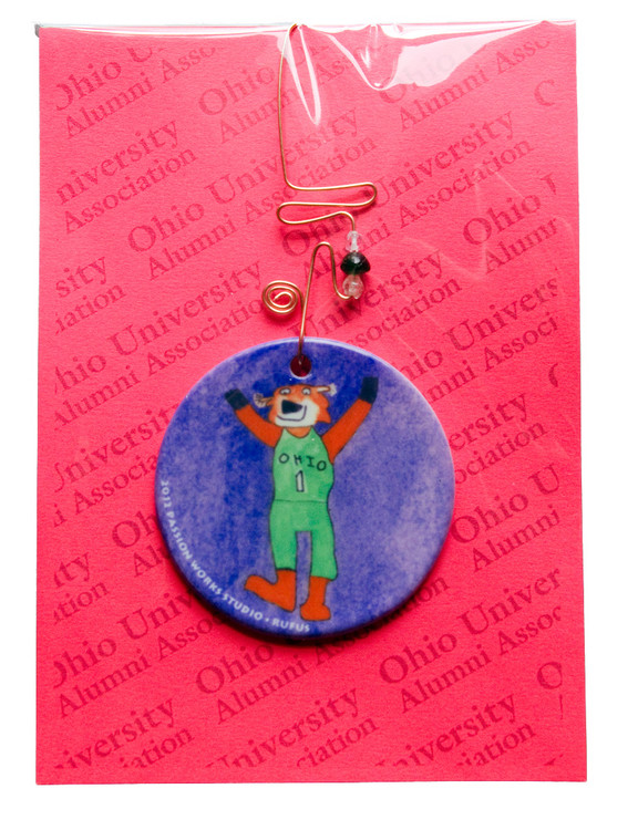 2012 PASSION WORKS RUFUS ORNAMENT