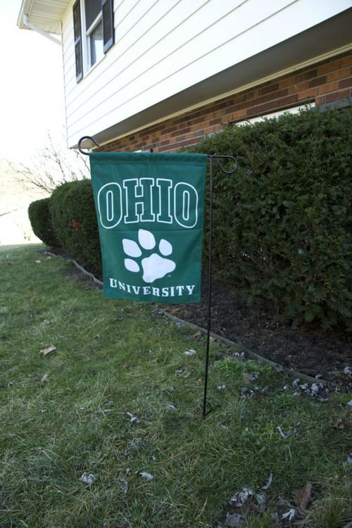 OHIO UNIVERSITY GARDEN FLAG
