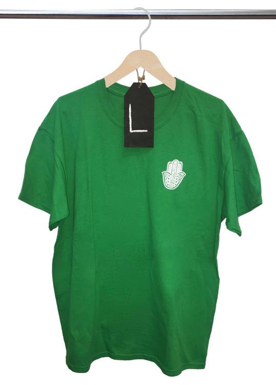HILLEL BRIGHT GREEN T-SHIRT