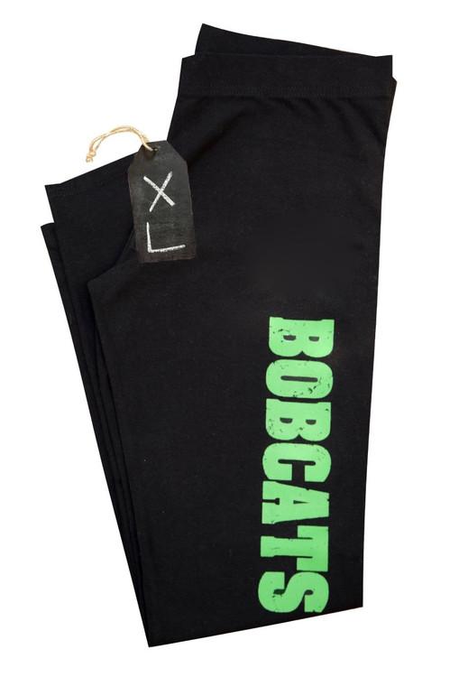 WOMEN'S BOBCAT BLACK LEGGINGS