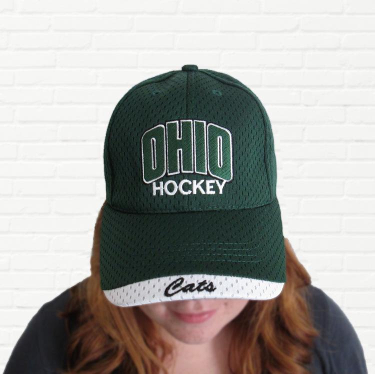 OHIO HOCKEY BALL CAP