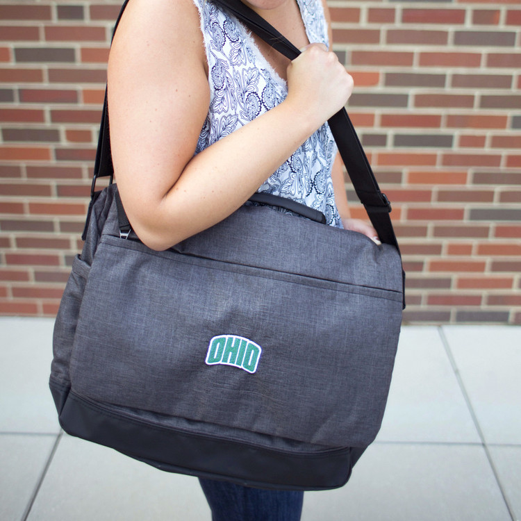 ARCHED OHIO MESSENGER BAG