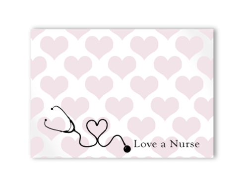 Love A Nurse Post-it Notes
