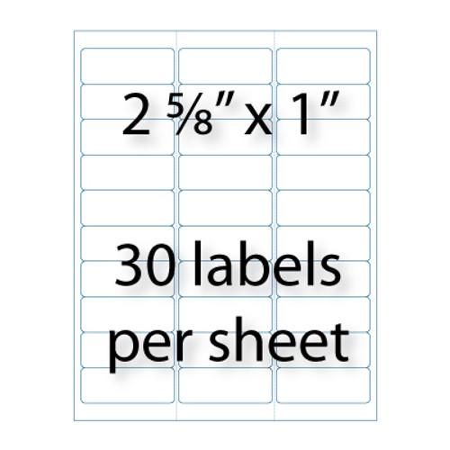 address labels  8 u0026quot  x 1  u0026quot