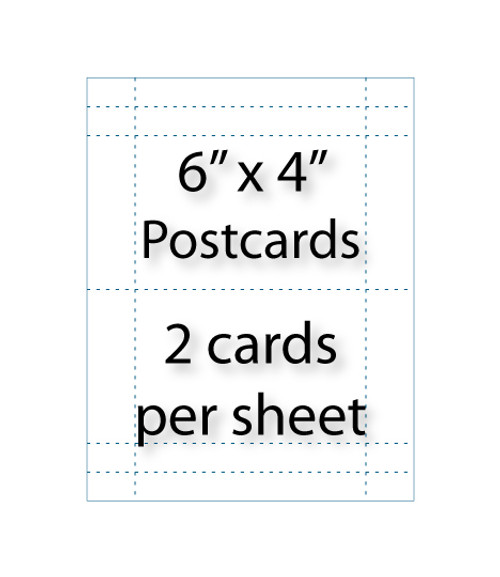 Wholesale 6x4 Postcards Avery 5389 Compatible