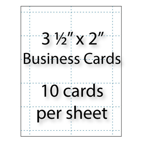 Business cards 35 x 2 avery 5371 5911 stik2it post it business cards 3 12 x 2 10 up colourmoves