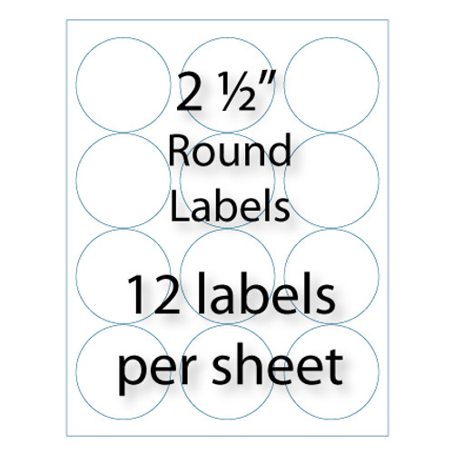 Wholesale 25 Round Labels Avery 5294 Compatible Stik2it