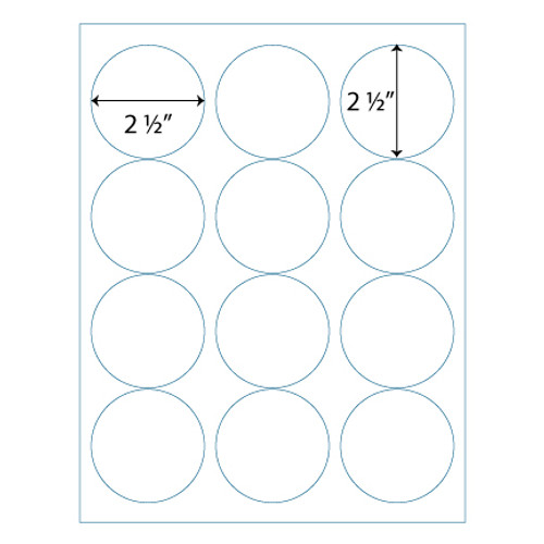 Wholesale 25 round labels avery 5294 compatible stik2it 2 12 round labels 12 up avery 5294 saigontimesfo