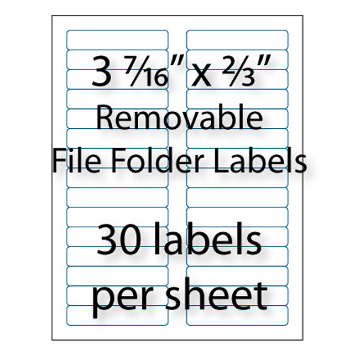 Wholesale Removable File Folder Labels | Avery® 8066 | Stik2it