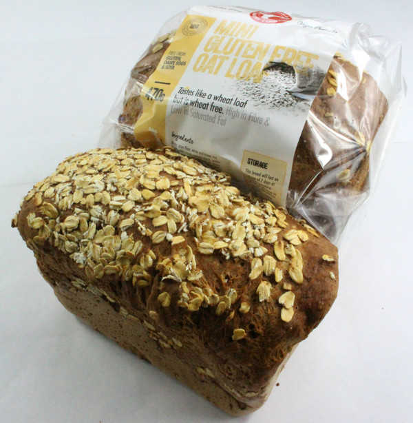 Mini Gluten Free Oat Loaf