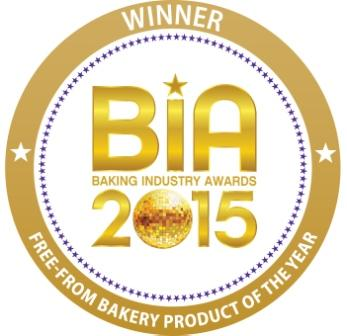 Baking Industry Award winning 2015