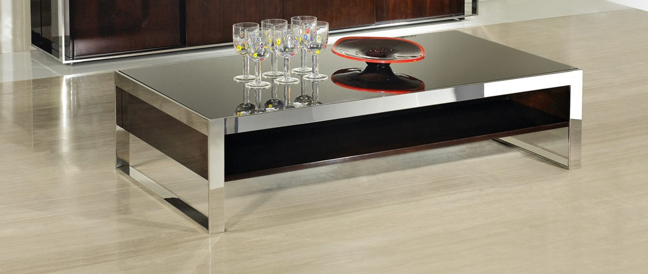 Superieur Modrest Noble   Modern Ebony Lacquer Coffee Table ...
