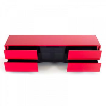 Nova Domus Max Modern Red TV Stand