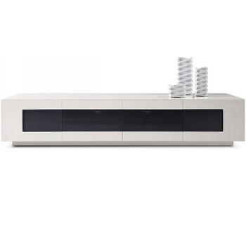 Modrest Frost - Modern Glossy Grey TV Unit