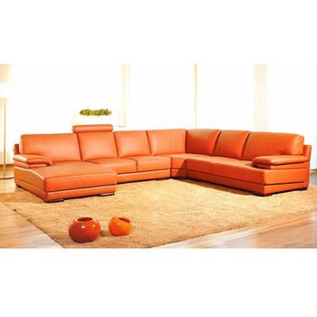Divani Casa 2227 - Modern Leather Sectional Sofa