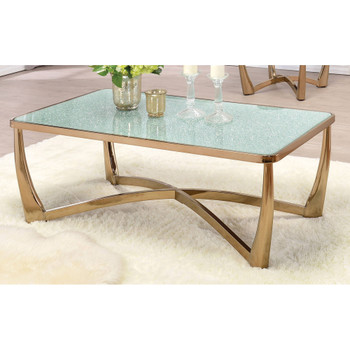 Orlando Champagne Coffee Table
