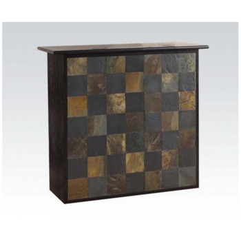 Pansy Stone Inlay Bar Table