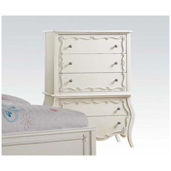 Edalene Pearl White Chest