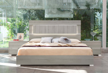 Modrest Ethan Italian Modern Grey Bedroom Set