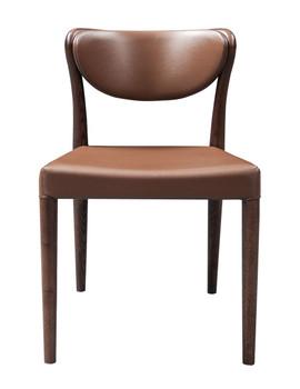 Modrest Union - Modern Brown Oak Dining Chair (Set of 2)