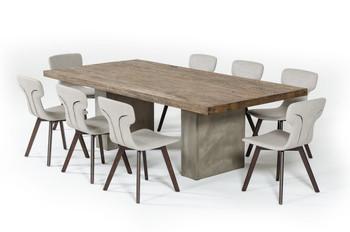 """Modrest Renzo Modern Oak & Concrete 79"""""""