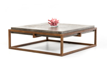 Modrest Shepard Modern Concrete Coffee Table