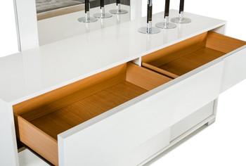Modrest Monza Italian Modern White Dresser