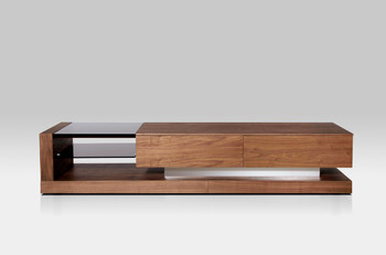 Modrest Mali Modern Walnut TV Stand