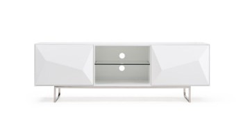 Modrest Vanguard Modern White TV Stand