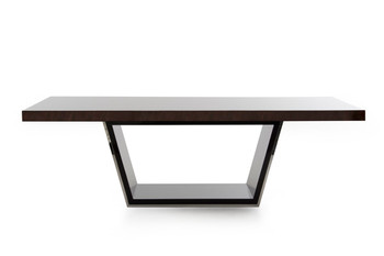 Modrest Christa Modern Ebony High Gloss Dining Table