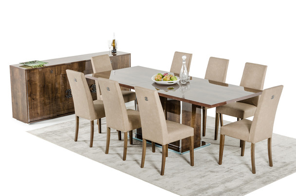 Modrest Athen Italian Modern Extendable Dining Table