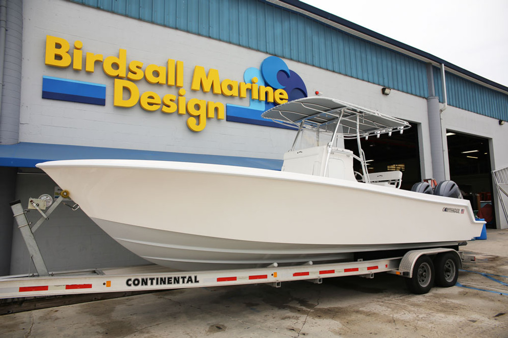 28' Contender with our Birdsall Folding T-Top