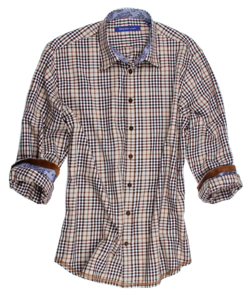 Diable-16026-023-Lightweight super soft flanel-Long-Sleeves