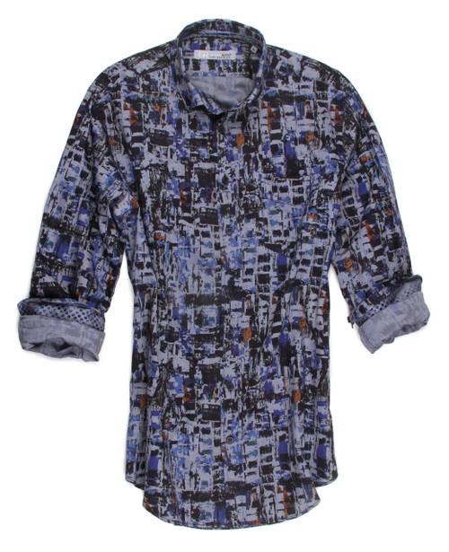 Barton Hills 16021-034 Long Sleeves Cotton Shirt