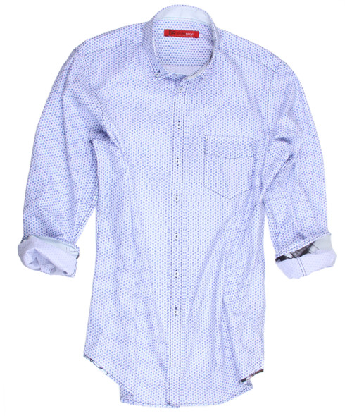 Del Mar 18038-051-Long-Sleeves-Cotton-Mens Shirt