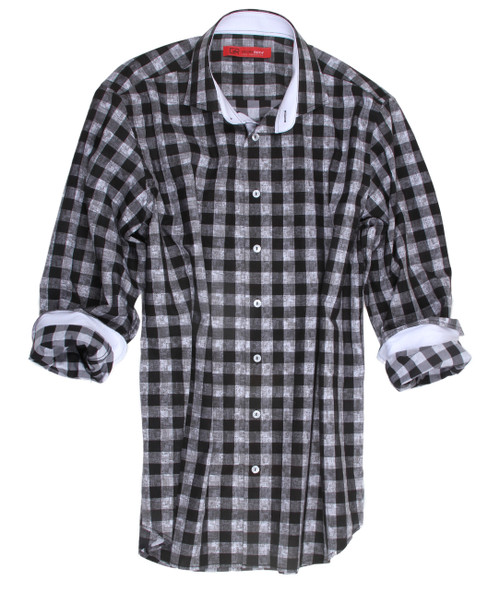 Banff-18025-020-Long-Sleeves Cotton Men's Shirt