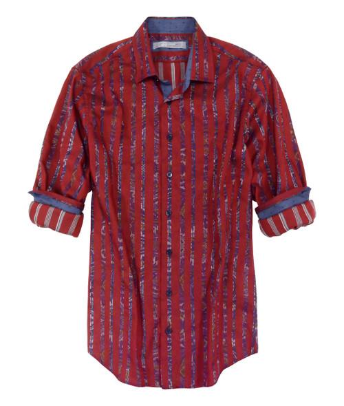 Brisbane-21069-052s-Long-Sleeves Cotton Mens Shirt