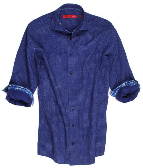 14000-042-Long-Sleeves-Cotton Big & Tall Men's Shirt
