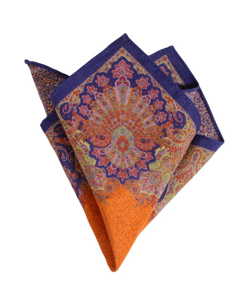 Pocket Square Orange 2050