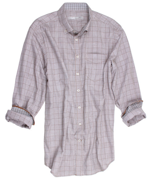 Long Sleeves Men's Shirt 100% Cotton