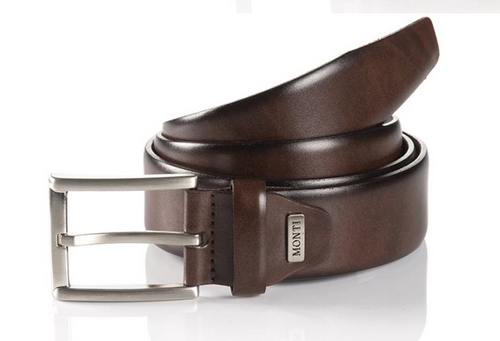 London 06 310-0000-6000 Brown Business Leather Belt