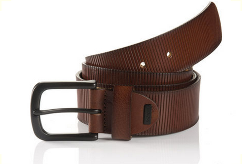 Oklahoma 06 313-0000-6008 Cognac Sportswear Style Leather Belt