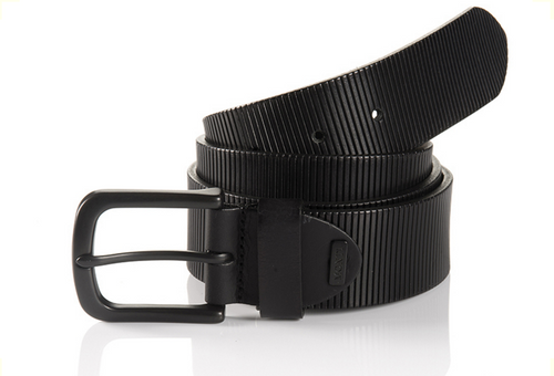 Oklahoma 06 313-0000-9000 Black Sportswear Style Leather Belt