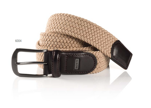 Hamburg 36738 0007 6004 beige stretch Belt