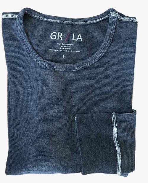 The Lennon GRLA LST 5004 BLUE Long Sleeve Lightweight thermal