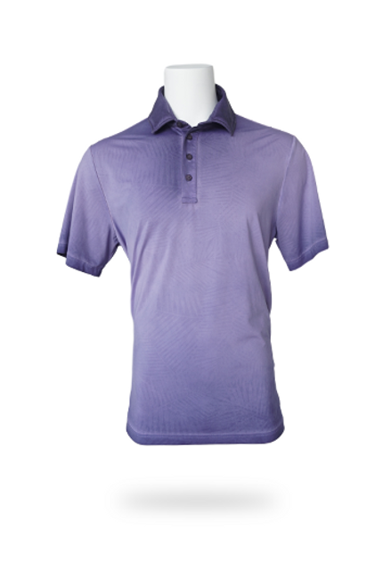"""Feel and look your best on those sunny days. Fabric - Princeville Recycled Jersey, 50+ UPF Woven Content - 79% Recycled Polyester, 21% Elastane Description - Moisture Wicking, 4-way stretch. """"Palm"""" tonal print Fit - Relaxed, 150 GMS, Lightest Fabric"""