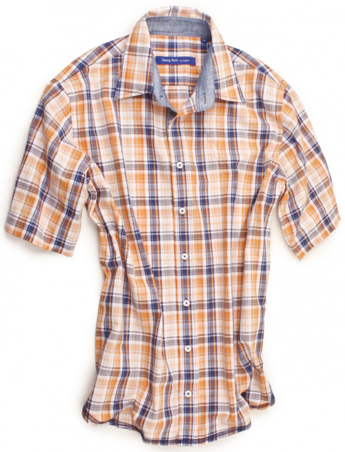 Albuquerque 30008-023-SS Short Sleeves Cotton Mens Shirt